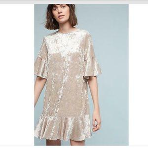 Anthropologie Velvet Dress by Sunday in Brooklyn